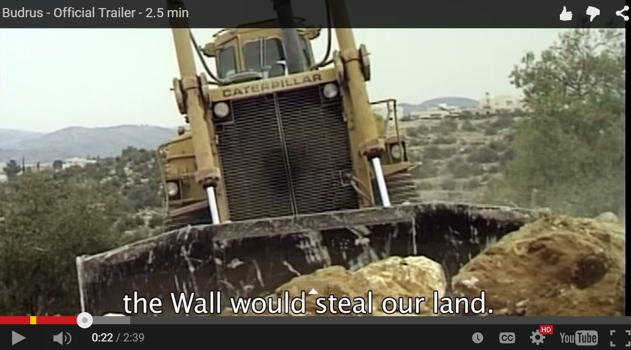A clip from Budrus, a film financed with a grant from the UJA-Federation in New York, and used to