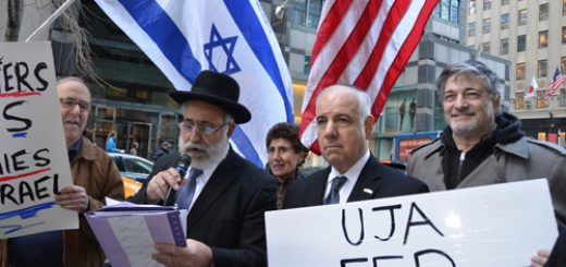 UJA-Federation Protest